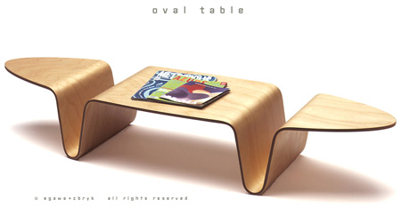 12 creative table designs for Creative design table