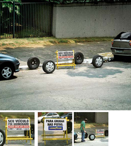 Outdoor Stunt by Goodyear