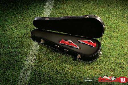 Wilson Hitman Advertisement