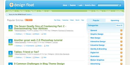 Blue CSS Website Designs 20