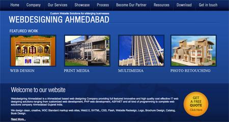 Blue CSS Website Designs 01
