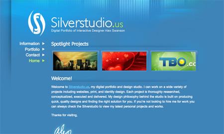Blue CSS Website Designs 18