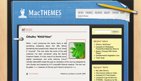 Blue CSS Website Designs 05