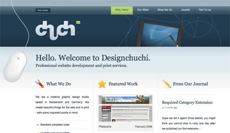 Blue CSS Website Designs 06