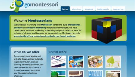 Blue CSS Website Designs 16