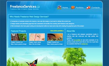 Blue CSS Website Designs 10