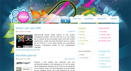 Blue CSS Website Designs 19