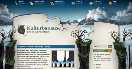 Blue CSS Website Designs 22