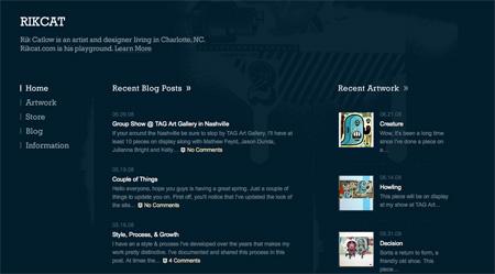 Blue CSS Website Designs 21