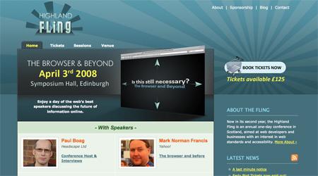 Blue CSS Website Designs 23