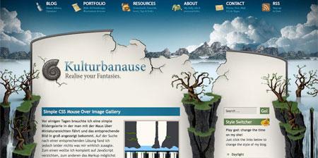 Blue CSS Website Designs