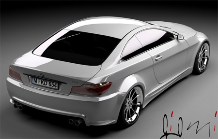 on Attempt To Visualize The Next Generation Bmw 6 Series Coupe M6 Model