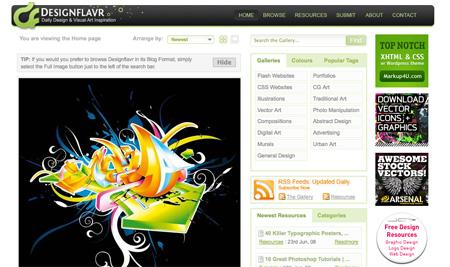 Design and Inspiration Websites 08