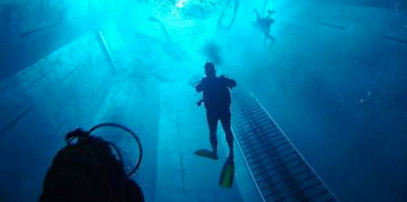 Deepest Diving Pool in the World