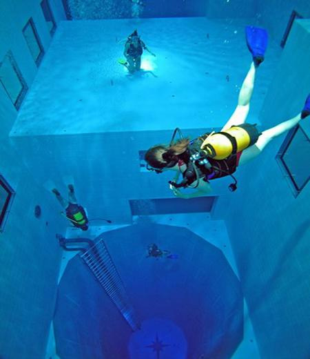 The Deepest Diving Pool in the World 6
