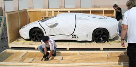 Unpacking Lamborghini Reventon