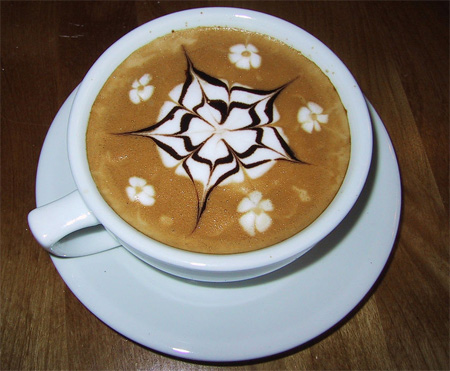 Latte Art Example