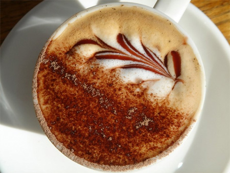 Coffee Art Example