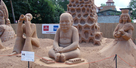 Latvia Sand Sculptures