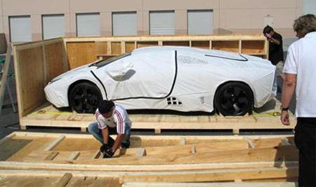Unpacking New Lamborghini Reventon
