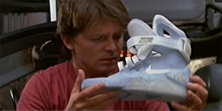 Back to the Future McFly Nike Sneakers 2