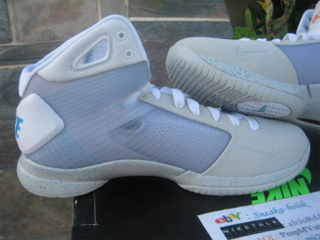 Back to the Future McFly Nike Sneakers 3