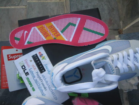 Back to the Future McFly Nike Sneakers 4