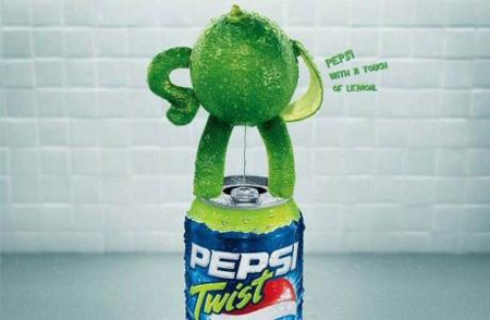 Pepsi Lemon Twist Advertisement