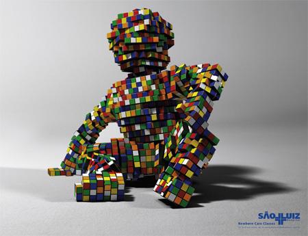 Creative Rubiks Cube Ads