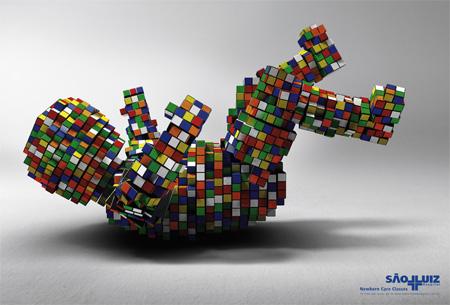 Creative Rubiks Cube Ads 3