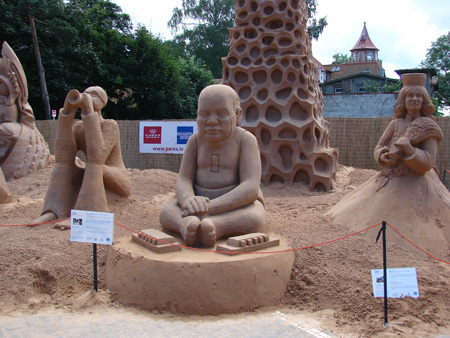 Creative Sand Sculptures from Latvia