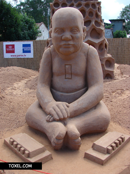 Creative Sand Sculptures from Latvia 2
