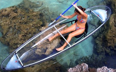 Transparent Canoe 2
