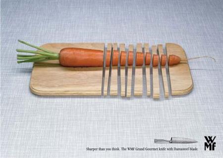WMF Knives Advertisement