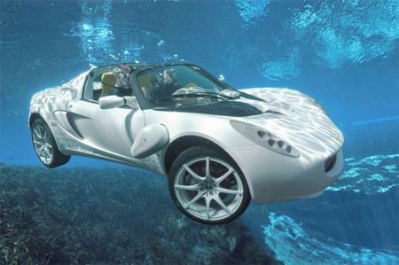sQuba Underwater Car