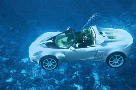 sQuba Underwater Car 2