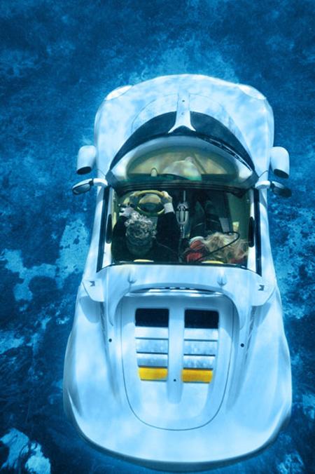 sQuba Underwater Car 3