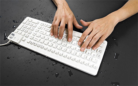Really Cool Waterproof Keyboard
