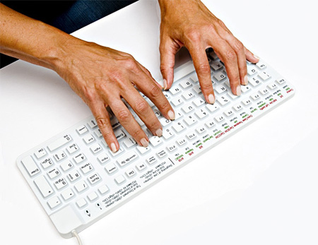 Really Cool Waterproof Keyboard 5
