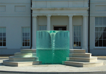 Vortex Water Sculpture by William Pye 2