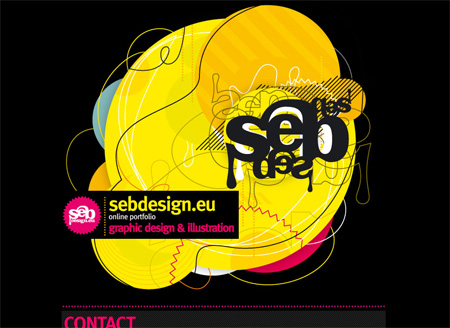 Yellow CSS Website Designs 12