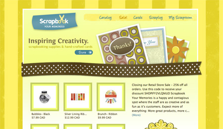 Yellow CSS Website Designs 08
