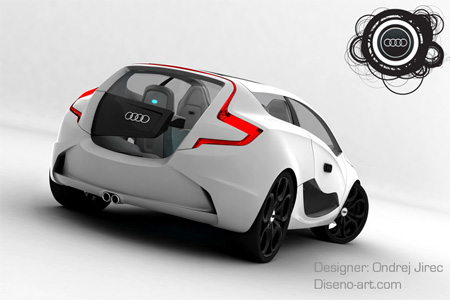 Audi O Concept Car by Ondrej Jirec 2