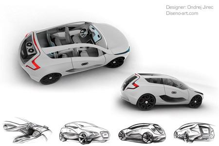 Audi O Concept Car by Ondrej Jirec 3