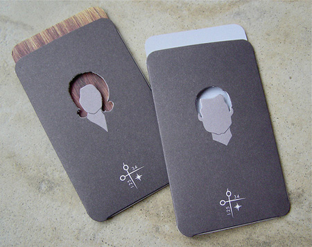 Creative Suitcase Business Card