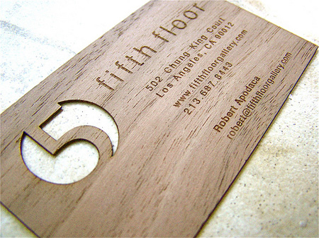 Fifth Floor Gallery Business Card