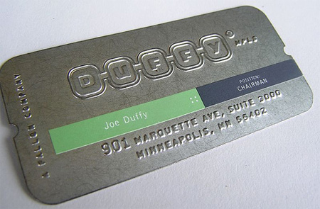 Duffy Business Card