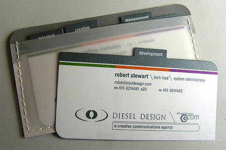 Deisel Design Business Cards
