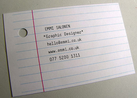 Emmi Business Card