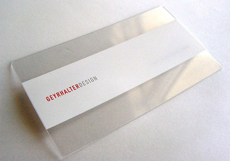 GEYRHALTER DESIGN Business Card